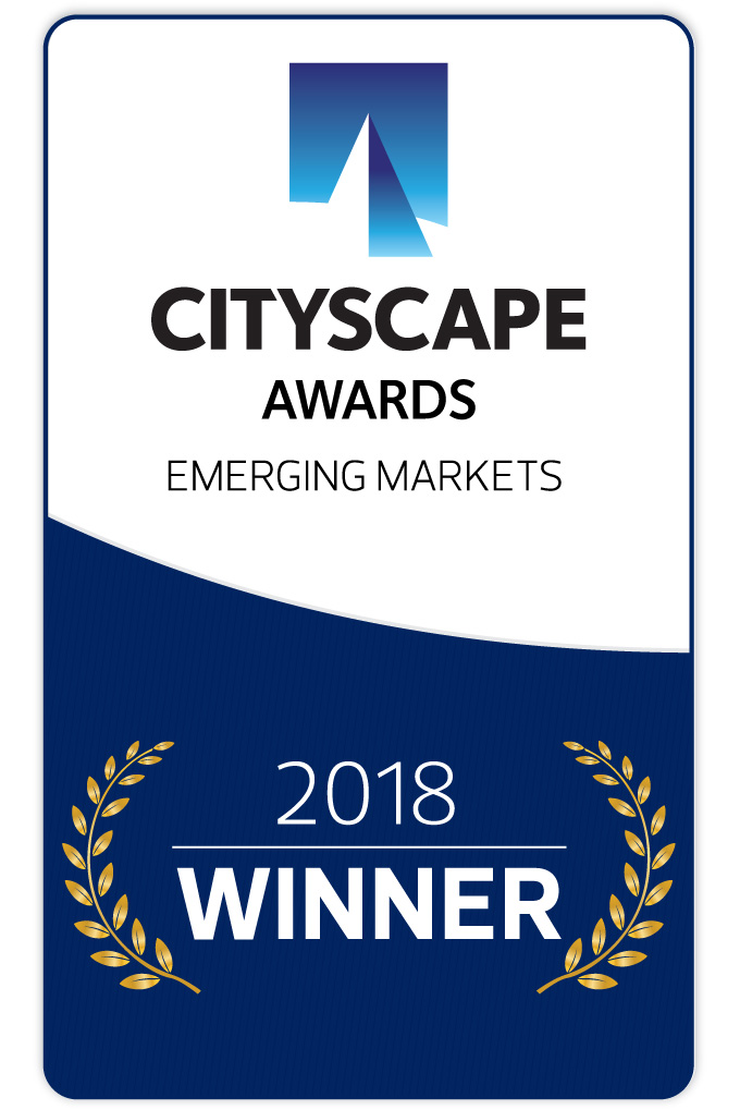 2018 Cityscape Awards for Emerging Markets -Winner